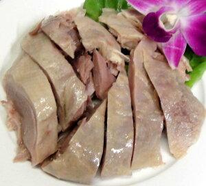 【冷凍便】塩水鴨肉 鹹水鴨 塩茹でかも肉 約450g 半羽