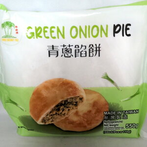 【冷凍便】青葱餡餅 台湾ネギパイ(塩味)110g×5個入 シェンービン 台湾産中華点心
