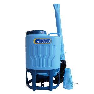 【送料込】背負い式肥料散布機サンプキング :SK-23 (23リットル)広範囲への粒状・粉状肥料の散布に