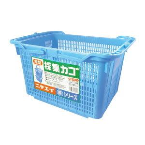 【送料込2個】角型 収穫カゴ(容量約22L)
