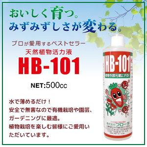 【送料込】フローラ HB-101(500cc)プロの農家さんから、家庭園芸の方まで安心して使える!有機栽培に最適
