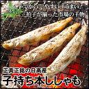 本ししゃも子持ち10尾 北海道日高産の本物のシシャモです♪【シシャモ】【ししゃも】【子持ち】