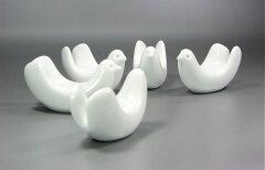 白山陶器とり型箸置
