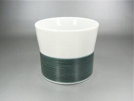 【波佐見焼】【白山陶器】 麻の糸 フリーカップ (インディゴ)