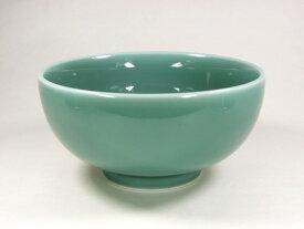 【波佐見焼】【白山陶器】 白山のどんぶりシリーズ ぞうすい碗(青磁) 雑炊碗