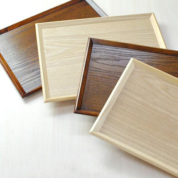 木製トレー 39.4cm*30.5cm*2.5cm 尺3寸 トレイ/天然木/お茶/長角膳 再入荷 大人気 2色選択可 席盆