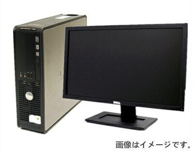 中古パソコン 【あす楽対応】【美品19型液晶セット】【Windows 7搭載/リカバリ付】DELL Optiplex 760 Core2Duo E7500 2.93G/4G/80GB/DVD-ROM(中古パソコン デスクトップ 中古PC デスクトップパソコン 中古 USED パソコン)
