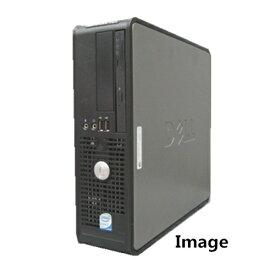 中古パソコン ポイント10倍 デスクトップ【Windows XP Pro】DELL Optiplex シリーズ Core2Duo 2.2G/2G/80GB/DVD-ROM【中古】【中古パソコン】【中古PC】