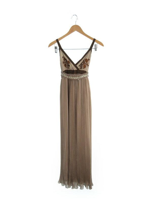 【GRACE CLASS】グレースクラス『ロングドレス size36 ベルト付』レディース イブニングドレス 1週間保証【中古】b02f/h16AB