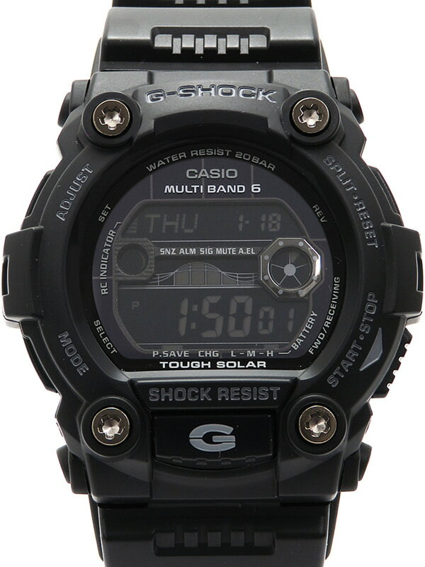 【CASIO】【G-SHOCK】【美品】カシオ『Gショック』GW-7900B-1JF メンズ ソーラー電波クォーツ 1週間保証【中古】b03w/h15SA