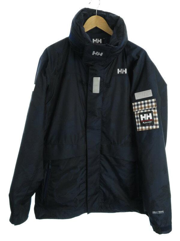 【HELLY HANSEN】【Aquascutum 別注】【アウター】ヘリーハンセン『ジップアップジャケット sizeXL』HV11801 メンズ ブルゾン 1週間保証【中古】b06f/h07AB