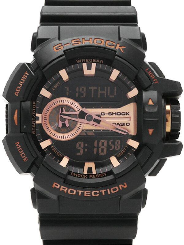 【CASIO】【G-SHOCK】カシオ『Gショック』GA-400GB-1A4JF メンズ クォーツ 1週間保証【中古】b05w/h22AB