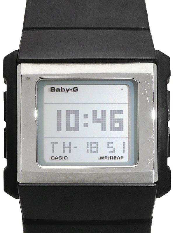 【CASIO】【BABY-G】【電池交換済】カシオ『ベビーG カスケット スリム』BG-2000-1 レディース クォーツ 1週間保証【中古】b03w/h12A