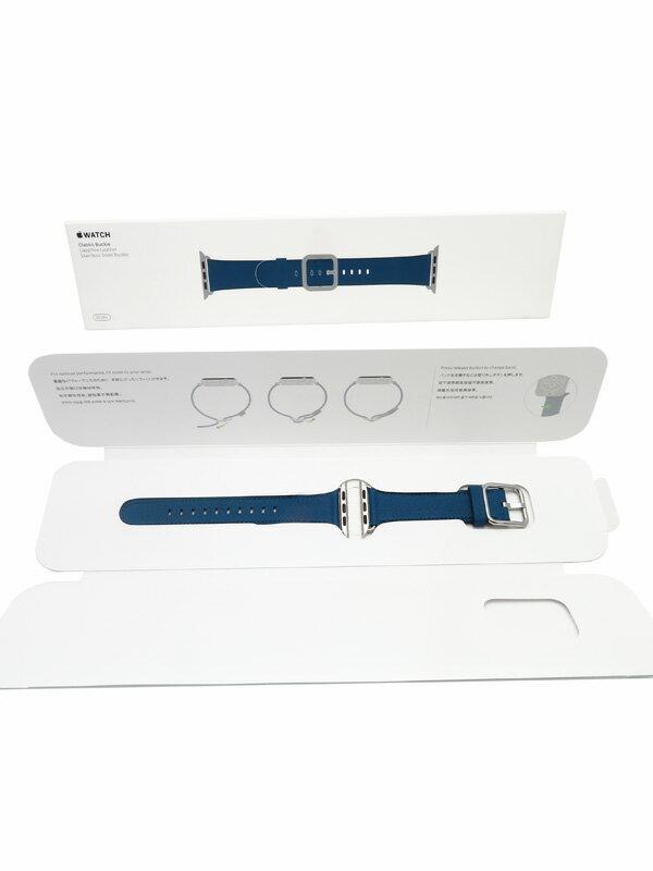 【Apple】アップル『Apple Watch 38mm ケース用 クラシックバックル サファイア』MPWJ2FE/A アップルウォッチ用アクセサリー 1週間保証【中古】b05w/h22A