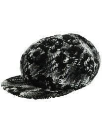 6a521c7fbcf6 中古 【CHANEL】【イタリア製】シャネル『キャップ sizeM』ユニセックス 帽子 1週間保証【中古】b05f/h07AB