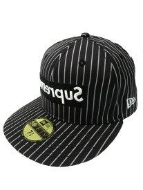 【Supreme】【Box Logo New Era Cap】【コムデギャルソンシャツ】シュプリーム『59FIFTY キャップ size7 3/8 58.7cm』14SS メンズ 帽子 1週間保証【中古】b02f/h03AB