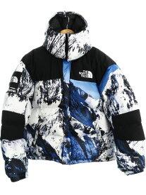 【Supreme】【ノースフェイス】【バルトロライトジャケット】【雪山】シュプリーム『ダウンジャケット sizeM』ND917011 17FW メンズ ブルゾン 1週間保証【中古】b02f/h03AB