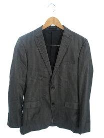 【BURBERRY BLACK LABEL】バーバリーブラックレーベル『ストライプ柄スーツ size上L下79』D1E22-300-06/D1Q-300-06 メンズ セットアップ 1週間保証【中古】