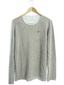 【lucien pellat-finet】【トップス】ルシアンペラフィネ『カシミヤ 長袖ニット sizeL』メンズ セーター 1週間保証【中古】