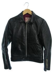 【Addict Clothes】【ホースハイド】【日本製】【アウター】『レザージャケット size36』メンズ 革ジャン 1週間保証【中古】