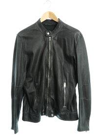 【DIESEL】【アウター】ディーゼル『レザージャケット sizeM』メンズ 革ジャン 1週間保証【中古】