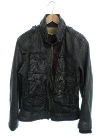 【AVIREX】【M-65タイプ】【アウター】アヴィレックス『レザージャケット sizeL』6101017 メンズ 革ジャン 1週間保証【中古】
