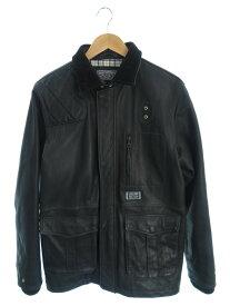 【NEIGHBORHOOD】【Vincents/GL-JKT】【アウター】ネイバーフッド『レザージャケット sizeM』NWNH-JK-M01 メンズ 1週間保証【中古】
