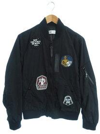 【COACH】【スターウォーズ】【アウター】コーチ『MA-1 中綿ジャケット sizeS』F78455 メンズ ブルゾン 1週間保証【中古】