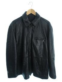 【LOEWE】【スペイン製】【アウター】ロエベ『レザージャケット size56』メンズ 革ジャン 1週間保証【中古】