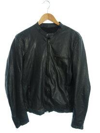 【Salvatore Santoro】【イタリア製】【アウター】サルバトーレサントロ『レザージャケット size48』SS11 メンズ 革ジャン 1週間保証【中古】