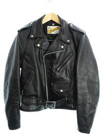 【Schott N.Y.C.】【アメリカ製】【アウター】ショット『レザーライダースジャケット size38』618 メンズ 革ジャン 1週間保証【中古】