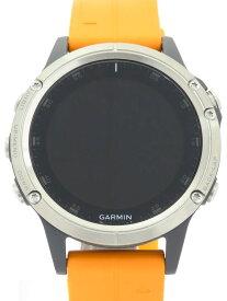 【GARMIN】【GPSスマートウォッチ】ガーミン『fenix 5 Plus Sapphire』010-01988-72 メンズ ウェアラブル端末 1週間保証【中古】