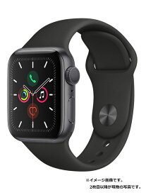 【Apple】【アップルウォッチ シリーズ5】アップル『Apple Watch Series 5 GPSモデル 40mm』MWV82J/A ボーイズ スマートウォッチ 1週間保証【中古】