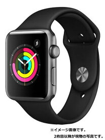 【Apple】【アップルウォッチ シリーズ3】アップル『Apple Watch Series 3 GPSモデル 42mm』MTF32J/A メンズ スマートウォッチ 1週間保証【中古】