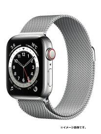 【Apple】【アップルウォッチ シリーズ6】【未開封】アップル『Apple Watch Series 6 GPS+Cellularモデル 40mm』M06U3J/A ボーイズ スマートウォッチ【中古】