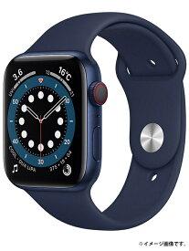 【Apple】【アップルウォッチ シリーズ6】【未開封】アップル『Apple Watch Series 6 GPS+Cellularモデル 44mm』M09A3J/A スマートウォッチ 1週間保証【中古】