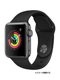 【Apple】【アップルウォッチシリーズ3】【未開封】アップル『Apple Watch Series 3 38mm GPSモデル』MTF02J/A ボーイズ スマートウォッチ 1週間保証【中古】