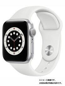 【Apple】【アップルウォッチ シリーズ6】アップル『Apple Watch Series 6 GPSモデル 40mm』MG283J/A メンズ スマートウォッチ 1週間保証【中古】