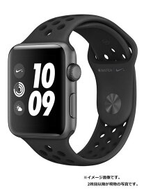 【Apple】【アップルウォッチ シリーズ3】アップル『Apple Watch Nike+ Series 3 GPSモデル 42mm』MTF42J/A ボーイズ スマートウォッチ 1週間保証【中古】
