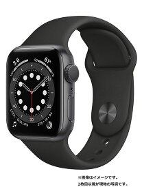 【Apple】【アップルウォッチ シリーズ6】アップル『Apple Watch Series 6 GPSモデル 40mm』MG133J/A ボーイズ スマートウォッチ 1週間保証【中古】