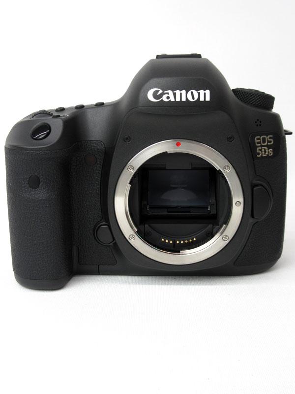 キヤノン『EOS 5Ds ボディー』EOS5DS 5060万画素 フルサイズ 61測距点 デジタル一眼レフカメラ【中古】b03e/h20AB