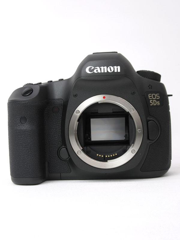 キヤノン『EOS 5Ds ボディー』EOS5DS 5060万画素 フルサイズ 61測距点 デジタル一眼レフカメラ【中古】b03e/h06AB