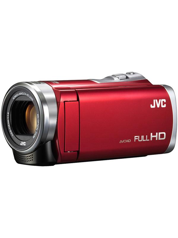 【Victor】ビクター『Everio(エブリオ)』GZ-HM199-R レッド 光学40倍ズーム フルHD デジタルビデオカメラ【新品】b00e/N