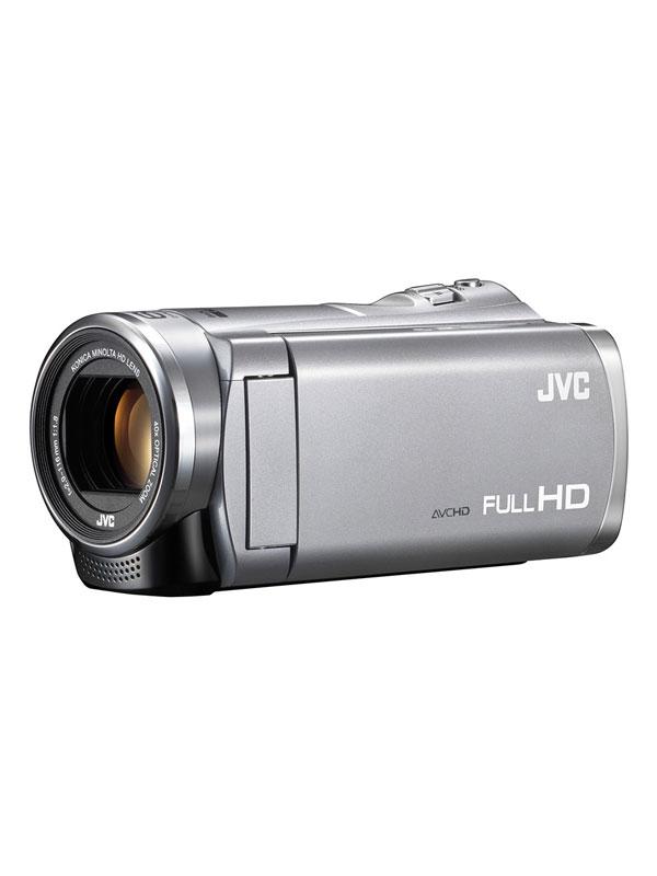 【Victor】ビクター『Everio(エブリオ)』GZ-HM199-S シルバー 光学40倍ズーム フルHD デジタルビデオカメラ【新品】b00e/N