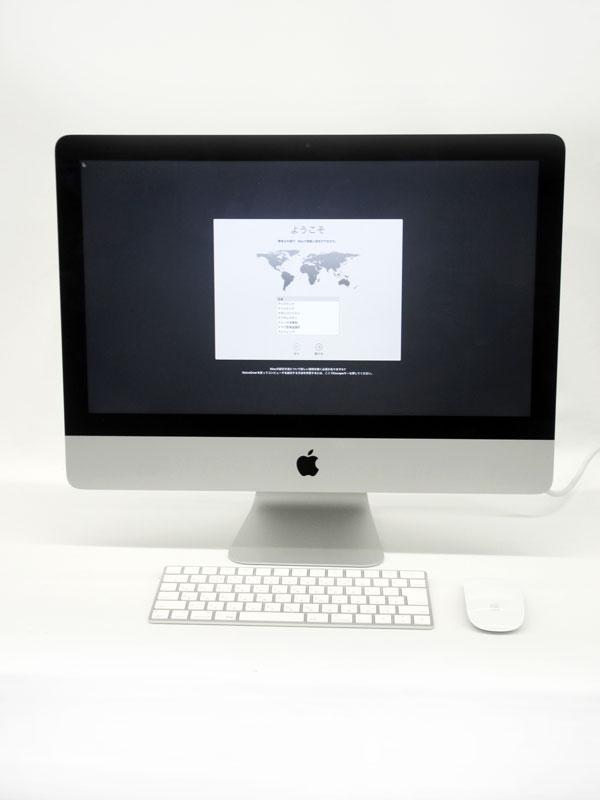 【Apple】アップル『iMac 1600/21.5』MK142J/A Late 2015 1TB High Sierra デスクトップPC【中古】b02e/h02AB