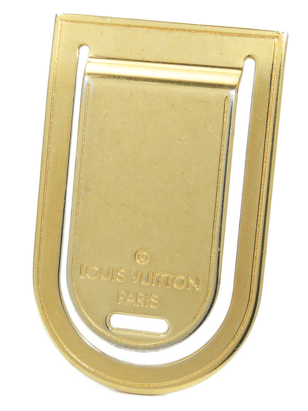 【Louis Vuitton】ルイヴィトン『パンス・ア・ビエ・ポルト アドレス』M64690 マネークリップ 1週間保証【中古】b06j/h17AB
