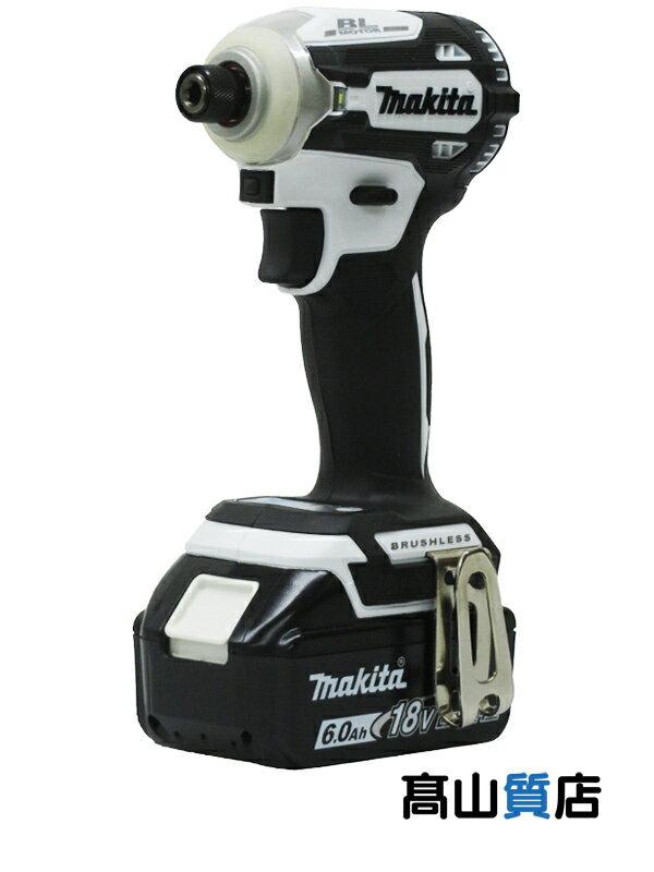 【makita】マキタ『充電式インパクトドライバ』TD171DRGXW 白 18V 6.0Ah×2 インパクトドライバー 1週間保証【新品】b00t/N