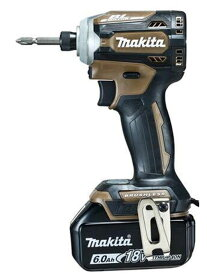 【makita】マキタ『充電式インパクトドライバ』TD171DGXAB オーセンティックブラウン 18V 6.0Ah×2 180N・m インパクトドライバー 1週間保証【新品】