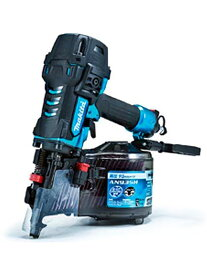 【makita】マキタ『90mm高圧エア釘打』AN935HM 青 スパイクスリムノーズ エアリサイクル機構 エアダスタ付【新品】b00t/N