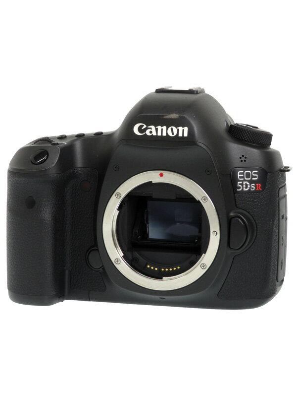 【Canon】キヤノン『EOS 5Ds R ボディー』EOS5DSR 5060万画素 ローパス無効 EF デジタル一眼レフカメラ【中古】b03e/h22AB